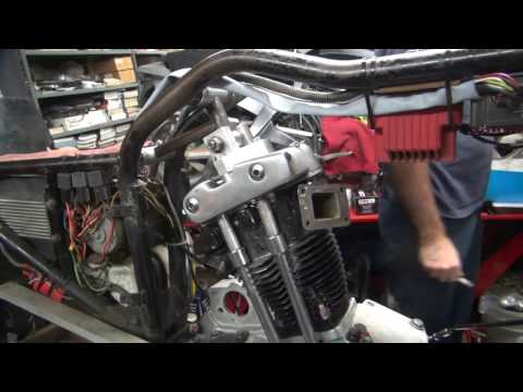 building xl stroker 650cc single #113 sportster scta harley