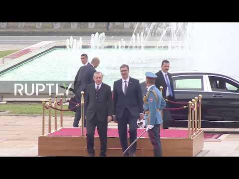 Serbia: Turkey's Erdogan meets President Vucic for talks in Belgrade