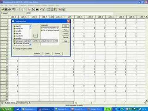 SPSS 1 Quickstart: Extracting Data