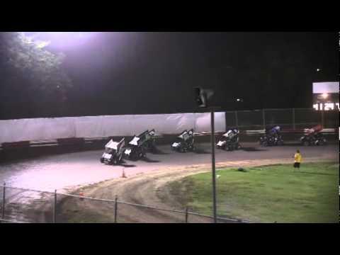 Dominic Scelzi 5/18/12 Plaza Park Raceway Visalia Super 600 Main Event