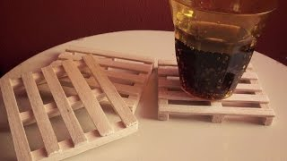 How To Create Tiny Wooden Pallet Coasters - Diy Home Tutorial - Guidecentral