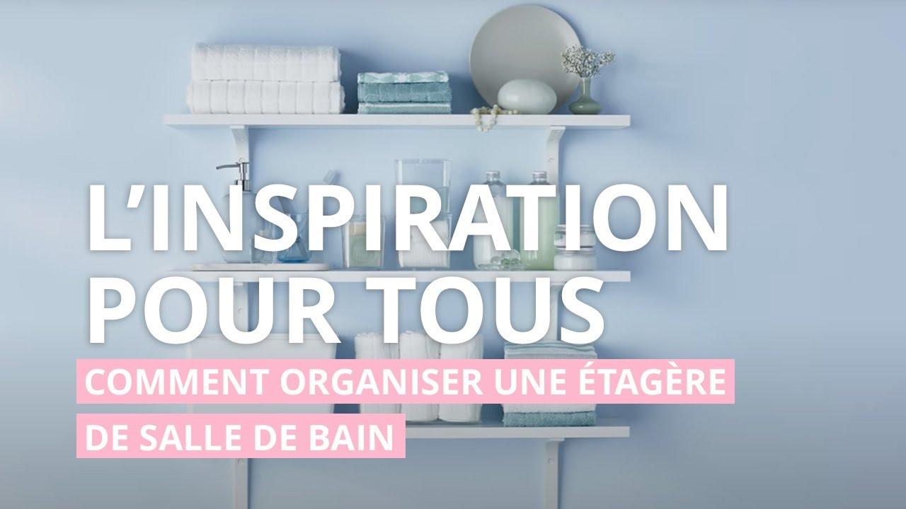 secrets de decorateur les etageres de la salle de bain