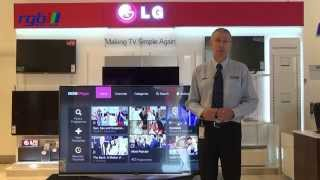 LG UF950V Series Ultra HD 4K Smart 3D LED TV Review - 55UF950V, 65UF950V