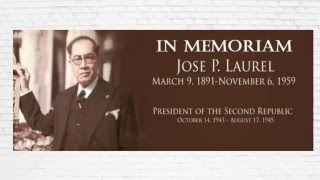 Jose P. Laurel - President of the Second Philippine Republic