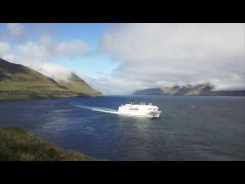 Norröna áveg til Tórshavn úr Seyðisfirði