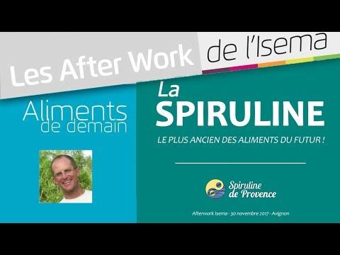 "Spiruline : ""Les Aliments de Demain"" - Conférence Isema - nov 2017 - JB SIMIAN"