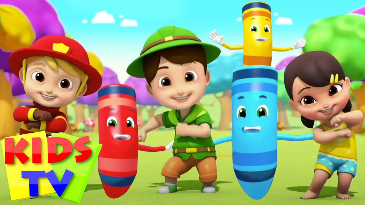 The Colors Song | Colors for Kids | Learn Colors | Nursery Rhymes & Baby Cartoon Songs by Kids Tv