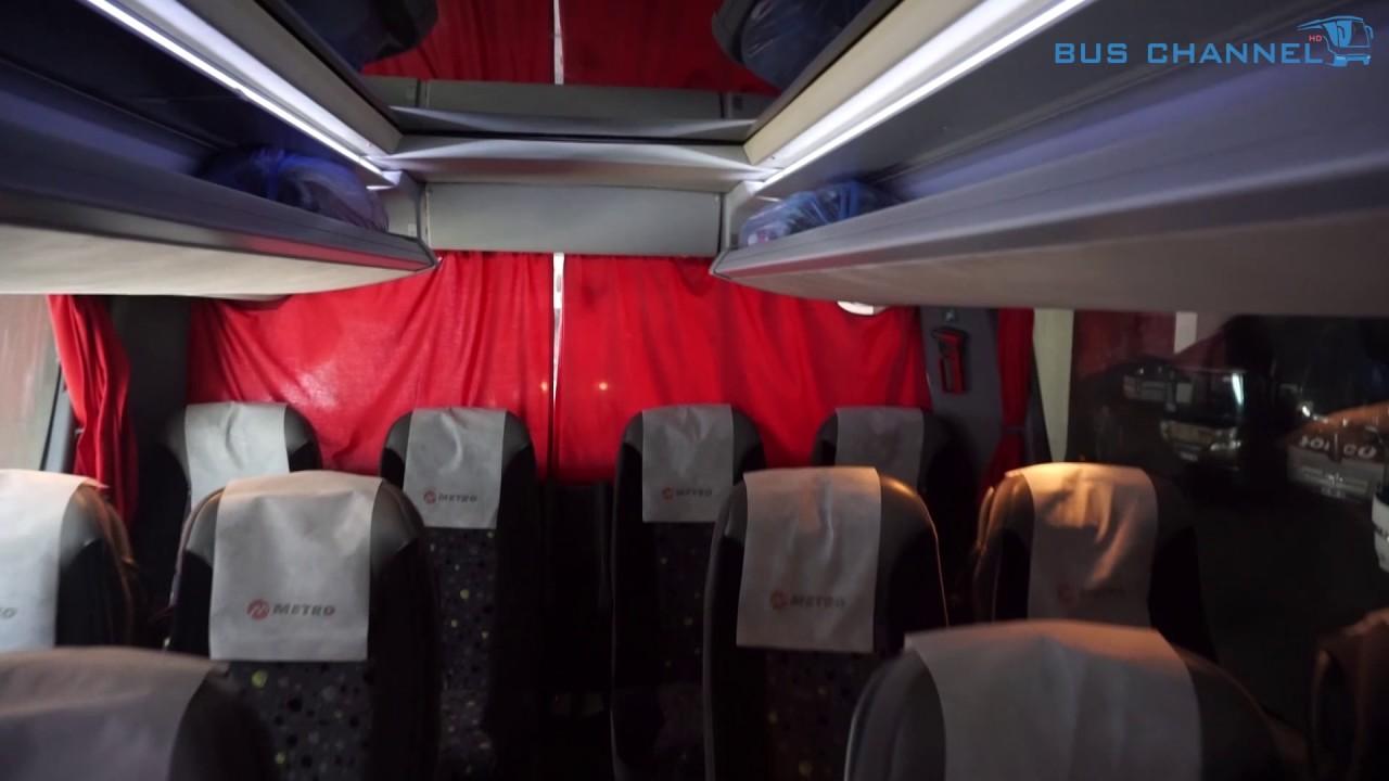 Setra 431 Dt Metro Class Ic Tanitimi Cift Katli Otobus Setra Ic Cekimi