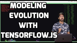 Modeling Evolution with Tensorflow.js
