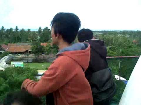 Diatas Menara Masjid Agung Banten Youtube