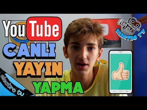 YouTube'da Mobilden Canlı Yayın Nasıl...