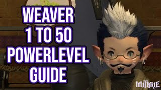 In this episode I power level Weaver from 1 to 50 in less than 2 ho...