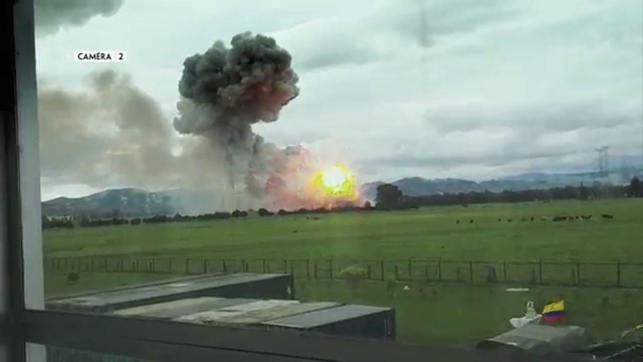 Quand tout bascule: trois tonnes de poudre explosent en Colombie !
