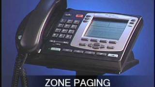 Nortel 2004 Zone Paging