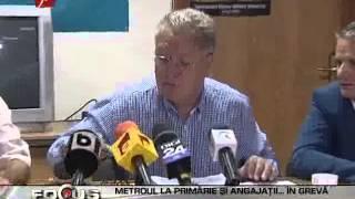 Metrou Stiri - Metrorex ameninta cu greva (18.09.2012)