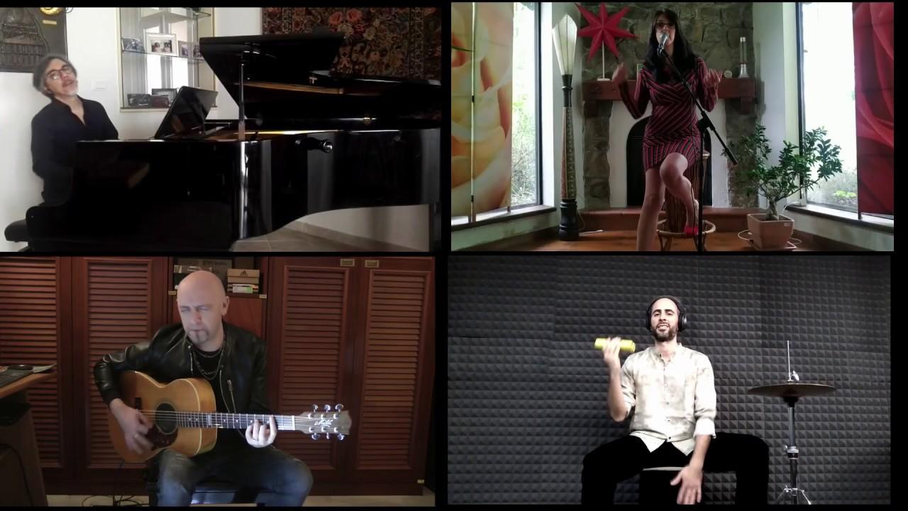 """""""Sous le Ciel de Paris"""" - Anna Petracca, Luca Allievi, Alfredo Matera e Nicola Campanella."""