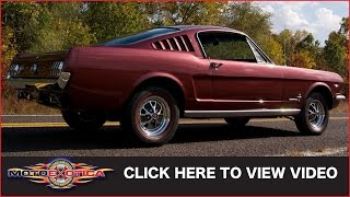 1965 Ford Mustang 2+2 289 Fastback (SOLD)