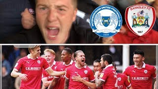 Peterborough United 0 Barnsley 4 | What A Bloody Result!!! | Matchday Vlog#13