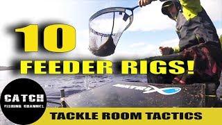 10 FEEDER FISHING RIGS! TACKLE ROOM TACTICS