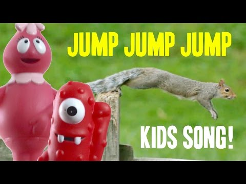 Jump Around Kids Song | Animals Jumping & Toys Jump Up and Down