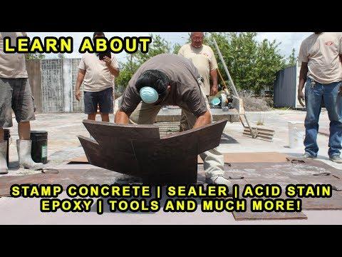 Decorative Concrete Training 2-Day Seminar