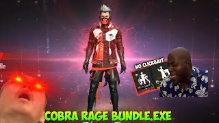 FREE FIRE.EXE | COBRA RAGE BUNDLE.EXE