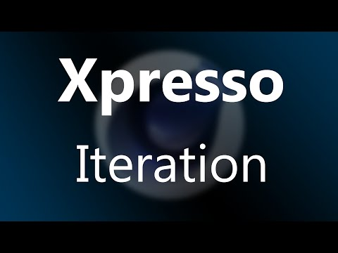 Cinema 4D Tutorial - Xpresso - Iteration