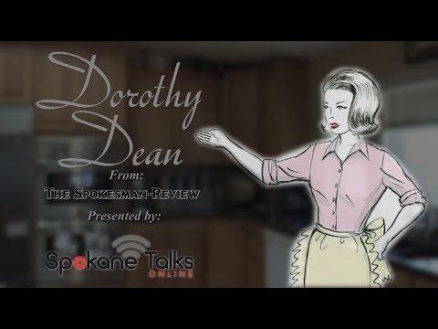 Spokane Cooks -- Dorothy Dean - Apple Kuchen