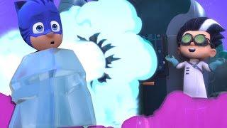 PJ Masks Episodes | CLIPS ⭐️ Catboy's Ice Problem ⭐️Cartoons for Kids