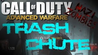COD Advanced Warfare Exo Zombies: Trash Chute Quick Escape + Locations