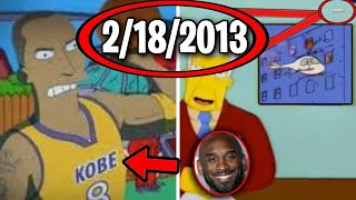 15 Times The Simpsons Predicted The Future (Kobe Bryant, Trump)