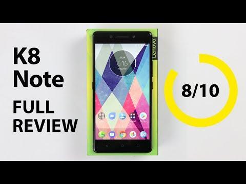 Lenovo K8 Note Full Review - Dual Camera, Big Battery, Bigger Storage