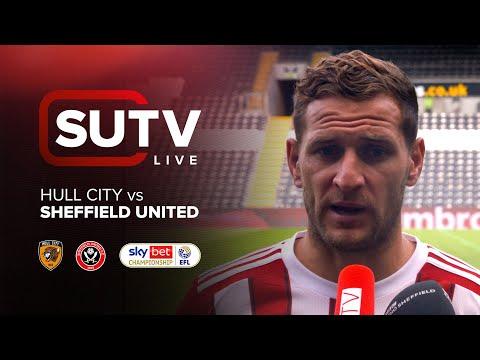 Hull City 1-3 Sheffield United | SUTV Live | Post-match Show with Billy Sharp