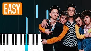 "Why Don't We - ""Hooked"" 100% EASY PIANO TUTORIAL"