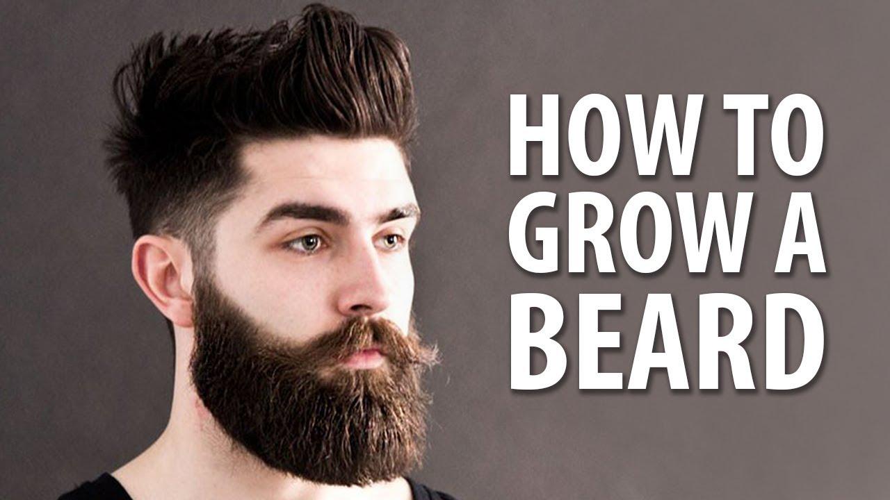How To Grow Beard Faster Naturally