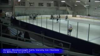 Acton Boxborough Girls Ice Hockey vs Billerica 1/21/17