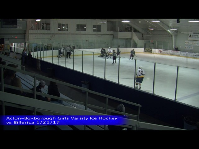 Acton Boxborough Girls Ice Hockey vs Billerica 1/21/17