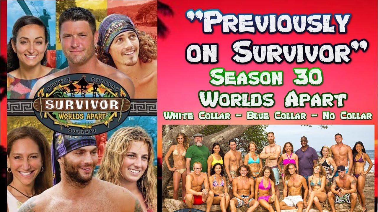 """Download """"Previously on Survivor"""" - Season 30 - Survivor: Worlds Apart-White Collar v Blue Collar v No Collar"""