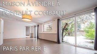 Maison à vendre à PONTAULT COMBAULT(77340) - Seine et Marne - proche Paris par RER ref : 95405BTX77