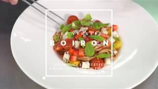 [RECETTE Les vergers Boiron] Sauce tomate et fraise pour pâtes