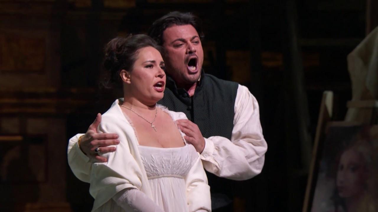 """Tosca: """"Mia gelosa!"""""""
