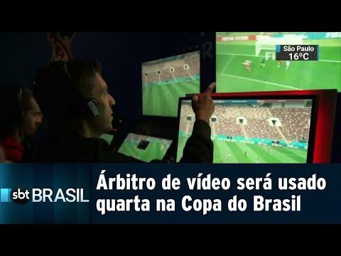 CBF divulga as regras para o uso do árbitro de vídeo na Copa do Brasil | SBT Brasil (30/07/18)