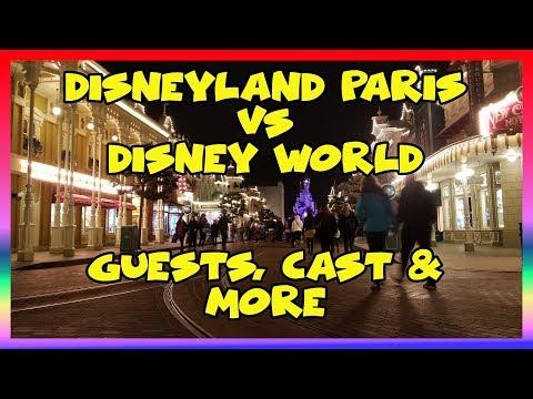 Disneyland Paris vs Disney World Guests, Cast, & More- Ep 106 Confessions of a Theme Park Worker