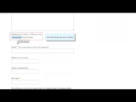 How to Create eBay classified ad