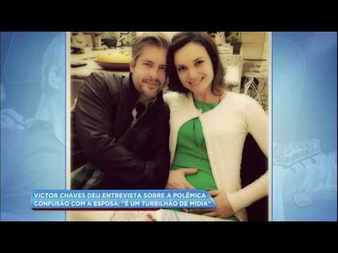 Hora da Venenosa: Hora da Venenosa: Victor Chaves culpa a mídia pela repercussão do caso