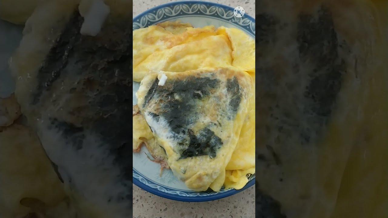 달걀 삼각김밥 egg triangle kimbap