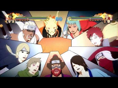 Naruto Shippuden Ultimate Ninja Storm 4   All Team Ultimate Jutsu [NO DLC]  
