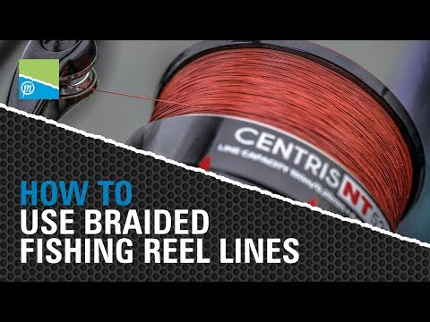 HOW TO Use Braided Fishing Reel Lines!