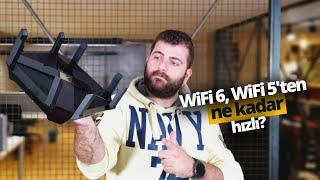 WiFi 6 ne kadar hızlı? WiFi 5 ile karşılaştırdık! Archer AX6000 inceleme