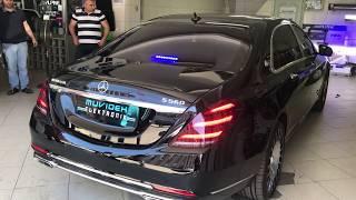 Mercedes Benz Maybach S560 Çakar-Siren